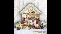 House Shadow Box - Winter Fairies Hop with FABRIKA DECORU Winter Fairy, Close Up Photos, Shadow Box, Fairies, Gingerbread, Holiday Decor, Videos, House, Home Decor