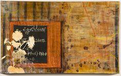 """Cyclical Emergence""- By Marissa Kathleen Quinn    Oil and mixed media on wood  2'x4'  marissakathleenquinn.com"