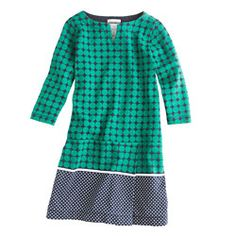 Girls' double-dot dress