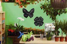 Tăblița memo Vermes, în formă de fluture Home Collections, Chalkboard, Wall, Fun, Inspiration, Design, Home Decor, Facebook, Shape