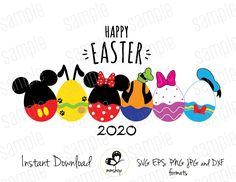 Happy Easter - Mickey Club Easter Egg - Instant Do Disney Diy, Disney Crafts, Disney 2017, Disney Stuff, Easter Images Clip Art, Disney Symbols, Mickey Craft, Easter Shirts For Boys, Easter Egg Designs