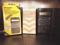 Calculatrice-Scientifique-calculator-Scientific-SHARP-EL-5020-90-039-s