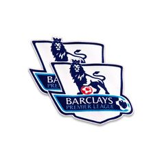 English Premier League 2007-13 Little Boys / Infants Felt Sleeve Badge Set