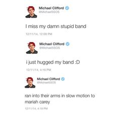 "I KNEW IT! I was literally joking the whole time ""what if mikey and the guys do that slow, running hug thing?"". XD"
