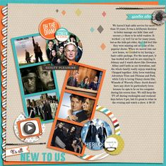 7 Ideas for Adding Attitude to your Scrapbook Pages with Trendy Flair | Adriana Puckett | GetItScrapped