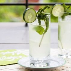 Kicking off my Summer Cocktail Series with a Sumo Cucumber Collins
