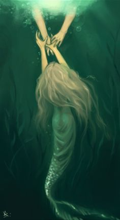 """They drag you down into the water and contain you, barely alive so they can feed off your life force."" ~Wendy Hamlet"
