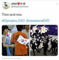 From watching the Olympics to actually performing in it, these boys went a long way.
