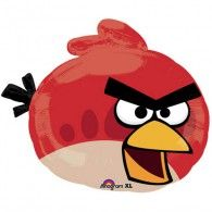 Red Angry Bird Balloon, New Angry Birds Balloons Balloon Shapes, Red Balloon, Mylar Balloons, Latex Balloons, Cumpleaños Angry Birds, Red Angry Bird, Discount Party Supplies, Kids Party Supplies, Birthday Supplies