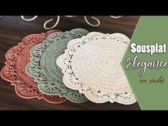 Crochet Coaster Pattern, Crochet Borders, Crochet Motif, Knit Crochet, Crochet Patterns, Mode Crochet, Crochet Home, Crochet Dollies, Diy Wand