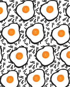 Eggs | Bouffants and Broken Hearts Tumblr, July 2014 #patterns