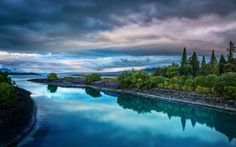 Evening on the Blue Lake Tekapo from #treyratcliff at www.StuckInCustoms.com - all images Creative Commons Noncommercial.  That's so amazing!