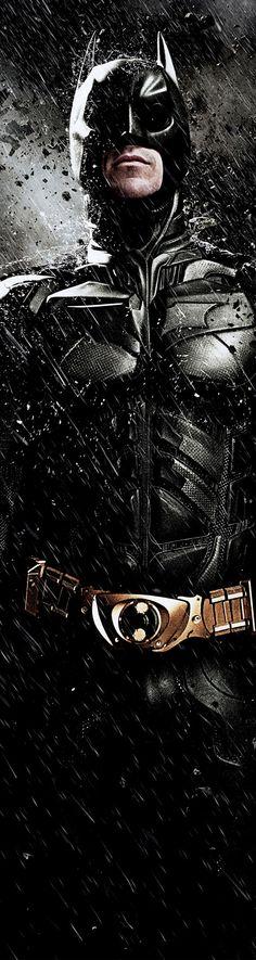 Christian Bale is Batman in The Dark Knight Rises  2012