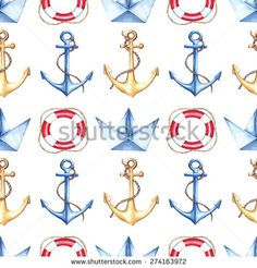 Stock Images similar to ID 94568383 - seamless ships pattern. vector