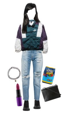 """""""I've had enough this is my prayer"""" by giannamardakis on Polyvore featuring Converse, Accessorize, Levi's, NIKE, BCBGMAXAZRIA and Hard Candy"""