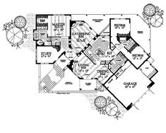 This adobe / southwestern design floor plan is 2624 sq ft and has 4 bedrooms and has 3 bathrooms. Kitchen Cabinets Elevation, Santa Fe Home, Homestead House, Adobe House, Eco Friendly House, Master Closet, Southwestern Style, Frames On Wall