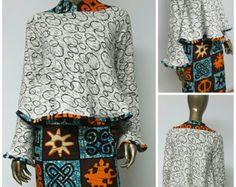 Collection AYAWAX. Imprimé africain équipé robe par NanayahStudio