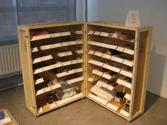 voorbeeld van een tentoonstellingskast, Museum of the Future, Eindhoven 2012