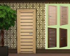 """Sims 3 by Mulena: Doors """"Perseus"""" • Sims 4 Downloads"""