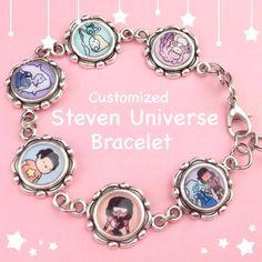 Customisable Steven universe bracelet by KiraKiraDoodles on Etsy