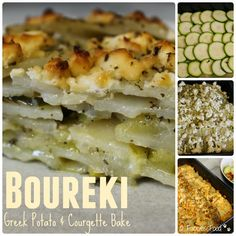 We Don't Eat Anything With A Face: Boureki - Greek Potato & Courgette Bake