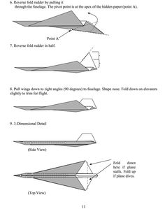 Dover Publications Sample: Airigami - Concorde 2