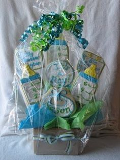 Cookie bouquet - Cookies and Cups