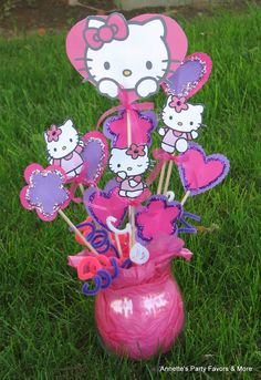 30 Best Hello Kitty Centerpieces Images Hello Kitty Centerpieces
