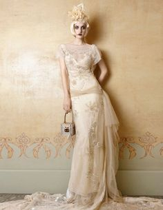 YolanCris Mademoiselle Vintage - Borgona