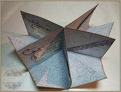 Birgit's Blog - kreatives und mehr...: Mini-Albumkarte mit Workshop (4 Quadrat DSP benötigt)