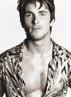 Christian Bale- I want to rape this man