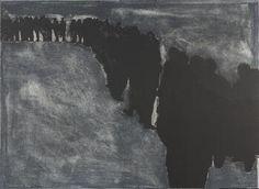 Rafael Canogar - La tierra 8: Espero Larga