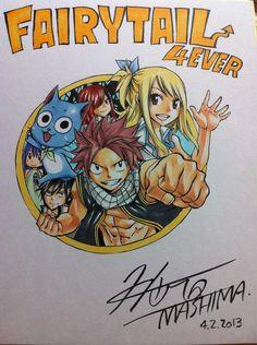 Fairy Tail // Art by Hiro Mashima