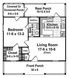 COOL house plans offers a unique variety of professionally designed home plans with floor plans by accredited home designers. Styles include country house plans, colonial, Victorian, European, and ranch. Blueprints for small to luxury home styles. Guest House Plans, Cabin Floor Plans, Small House Plans, The Plan, How To Plan, Plan Plan, Br House, Tiny House Living, Small Living