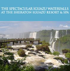 Luxury Travel and Tours to Iguazu Falls, Argentina Iguazu Falls Luxury Tours: Travel in Comfort and Style. We offer several different options for luxury tours, so that you can travel to and enjoy Iguazu Falls in comfort and style.  With these tour packages,  you'll stay at premium hotels and find an opportunity to  experience the impressive waterfalls... Check your #Travel #Tours #Packages #Vacations at #iguazufalls  in #Argentina . Different #destinations are waiting for You! 01Argentina