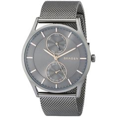 c29ffcd046f Skagen Men s Holst SKW6180 Black Stainless Steel Quartz Watch (SKW6180)