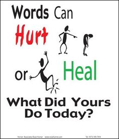 Thoughts from Brahma Kumaris: Words filled with good wishes bring change in others.