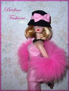 Pink Barbie, Barbie Dolls, Pink Martini, Calendar Girls, Spring Bouquet, Dollhouse Dolls, Modern Retro, Pink Champagne, Gold Fashion