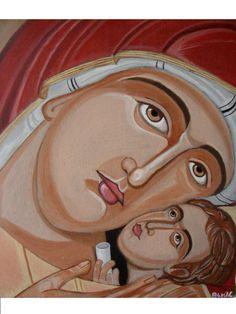 Beautiful hand painted Greek icon !!
