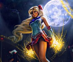 Fan Art Friday: Sailor Moon by techgnotic on DeviantArt Sailor Moon Girls, Sailor Moon Fan Art, Sailor Venus, Obama Images, Outlaw Star, Sailor Moon Cosplay, Princess Serenity, Sunset Pictures, Sailor Scouts