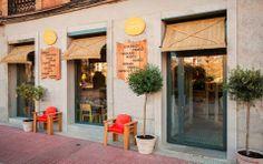 Lila and Cloe: MAMA CAMPO restaurante y tienda de productos ecoló...