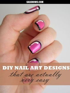 DIY Nail art designs 1.1