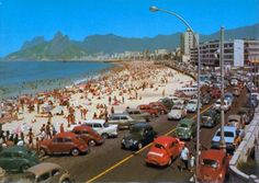VW Beetles at Copacabana