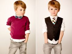 You had an uncle who always wore bow ties whenever we went to the country club to dine.  Mommy wore vests, alot too.