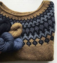 Stricken, - Latoya Higgins Page Fair Isle Knitting Patterns, Fair Isle Pattern, Knitting Blogs, Knitting Charts, Knit Patterns, Knitting Projects, Crochet Projects, Icelandic Sweaters, How To Purl Knit