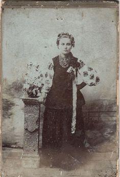 Панночка ! Кабінет - портрет, фото поч. ХХ ст.