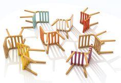 Cadeira trapézio -  Gustavo Bittencourt