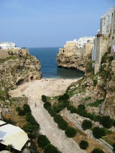 Bari, Italy. Going here someday--birthplace of my grandma and many previous generations of my ancestors.