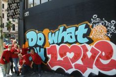 Do what you love. Tour San Francisco's street art gallery...which is the street of course!