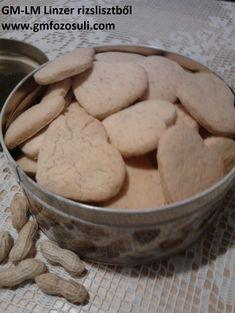 Mogyorós linzer rizslisztből – Gluténmentes övezet Sin Gluten, Gluten Free, Cooking Recipes, Paleo, Cookies, Food, Glutenfree, Glutenfree, Crack Crackers
